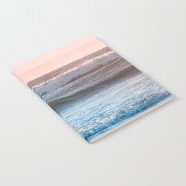 Beach Adventure Summer Waves at Sunset Notebook