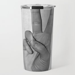 Peace it Travel Mug