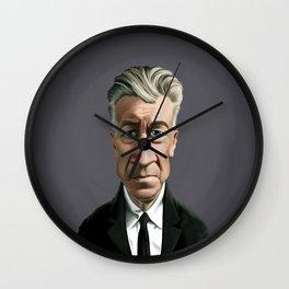 Celebrity Sunday ~ David Lynch Wall Clock