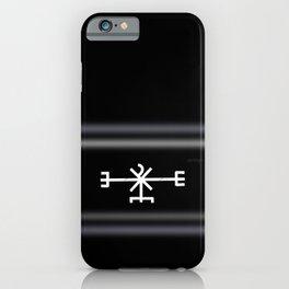 Icelandic Magical stave - Að unni  iPhone Case