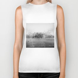 A través del cristal (black and white version) Biker Tank