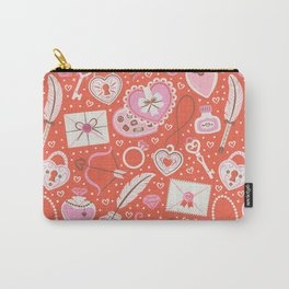 Valentine's Day Red Carry-All Pouch