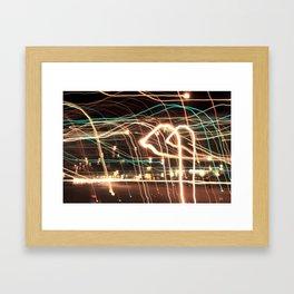 Light Landing Framed Art Print