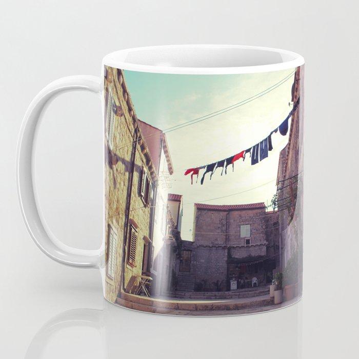 Croatian clothesline Coffee Mug