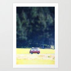 Adventure Van Art Print