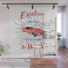 EXPLORE THE WORLD Wall Mural