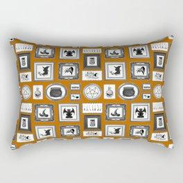 WITCHY WALLS Rectangular Pillow