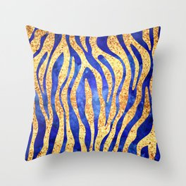 Mosaic Stripes Throw Pillow