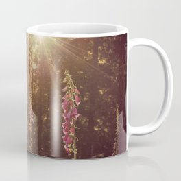 A New Day Wildflowers at Dawn - Nature Photography Coffee Mug