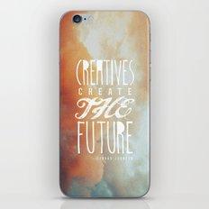 CREATIVES CREATE THE FUTURE iPhone & iPod Skin