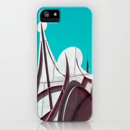 Surreal Montreal 3 iPhone Case