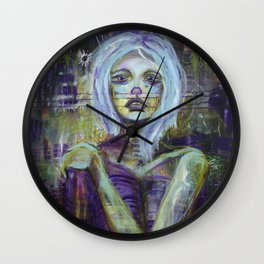 Vanishing - Consumed By Sadness Wall Clock