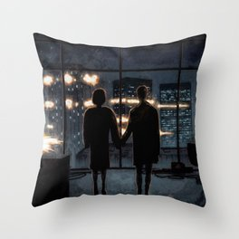 Where Is My Mind? Throw Pillow