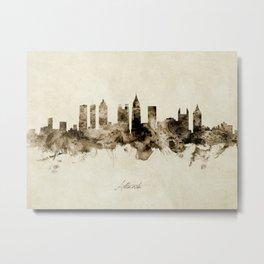 Atlanta Georgia Skyline Metal Print
