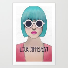 Look different  Art Print