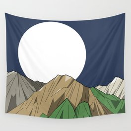 Mount Olympus Wall Tapestry