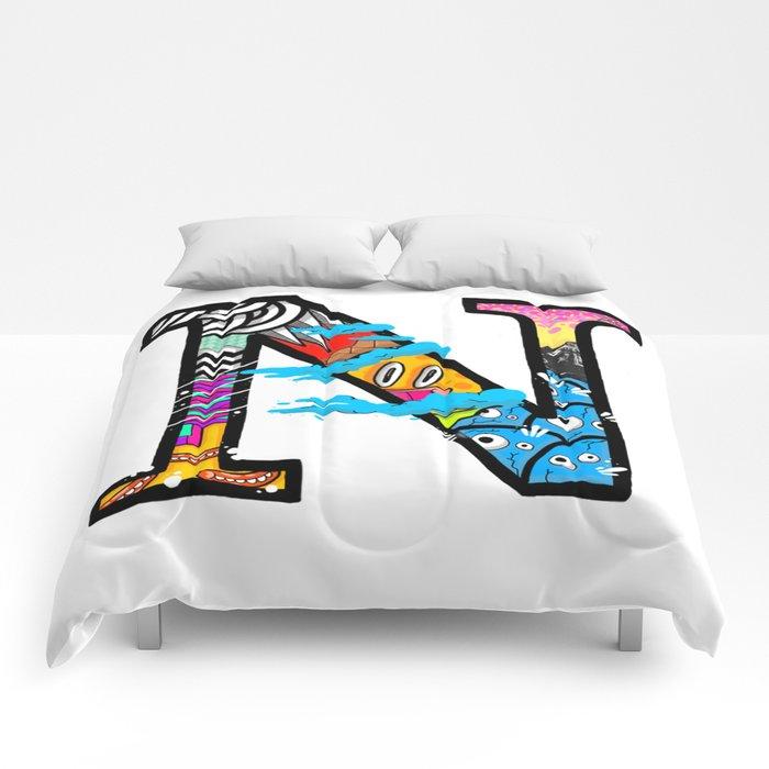 initial N Comforters