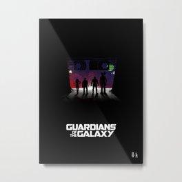 Fan Art: Guardians of the Galaxy Metal Print