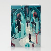 ice Stationery Cards featuring Ice age by Reno Nogaj