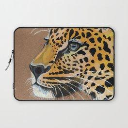 Leopard glance Laptop Sleeve