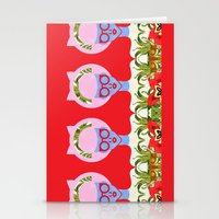 fern Stationery Cards featuring Fern  by The Pairabirds