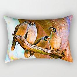 Morning Chorus Rectangular Pillow