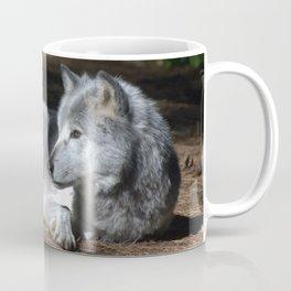 Gray Wolf at Rest Coffee Mug