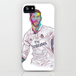 Real Madrid Sergio Ramos iPhone Case