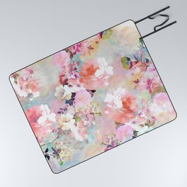 Love of a Flower Picnic Blanket