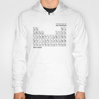 periodic table Hoodies featuring Periodic Table of 4x4 Vehicles by 4Explorers