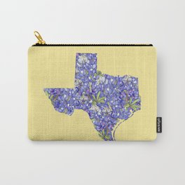 Texas in Flowers Carry-All Pouch
