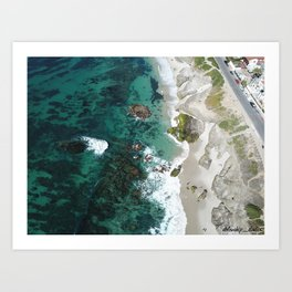 Cruisin' Coastal Art Print