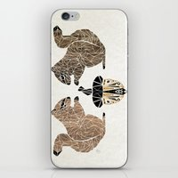 squirrel iPhone & iPod Skins featuring squirrel by Manoou