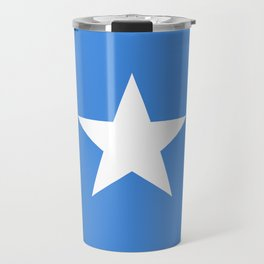 Somalian national flag - Authentic color and scale (high quality file) Travel Mug
