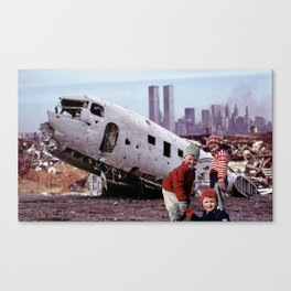The World They Know Canvas Print