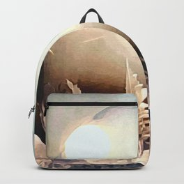 ice feather color Backpack