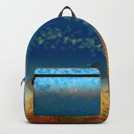 Abstract Seascape 01 w Backpack