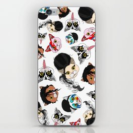 Pop Cats iPhone Skin