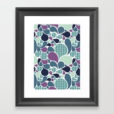 Sea pattern Framed Art Print