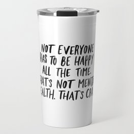 Mental Health Travel Mug