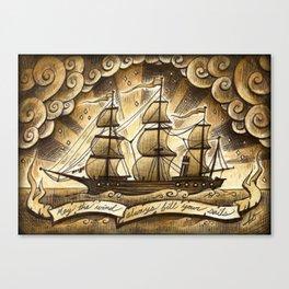Sailing Winds Canvas Print