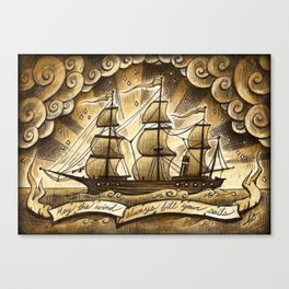 Sailing Winds Canvas Print