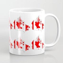 flag of canada 4-canadian,canadien,canadiense,ottawa,toronto,montreal. Coffee Mug