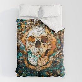 Old Skull Duvet Cover