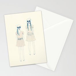 girl-16 Stationery Cards