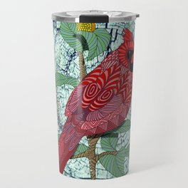 Virginia Cardinal Travel Mug