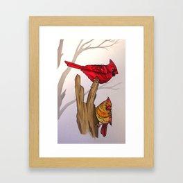 The Cardinals  Framed Art Print