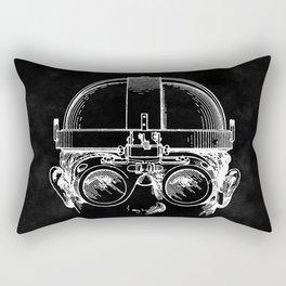 Welding Goggles Blueprint Rectangular Pillow