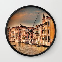 Grand Canal of Venice Wall Clock