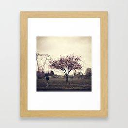 Due West Framed Art Print